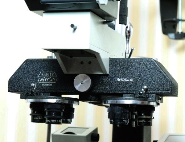 datazione microscopio Leitz